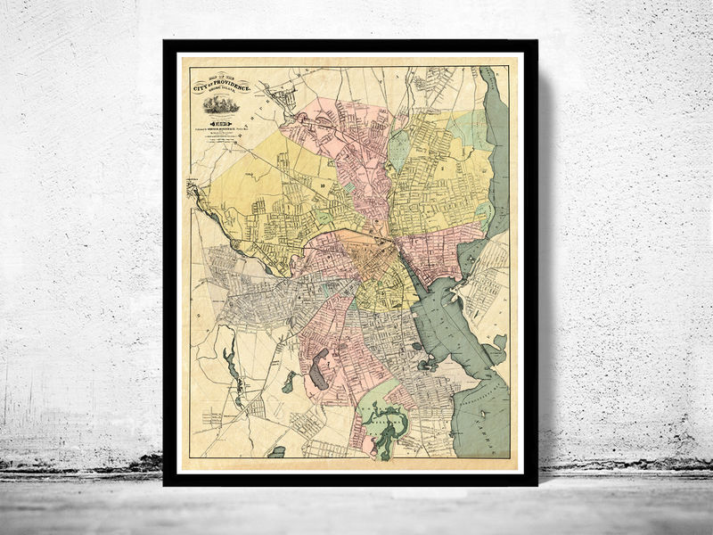 Vintage Map and prints