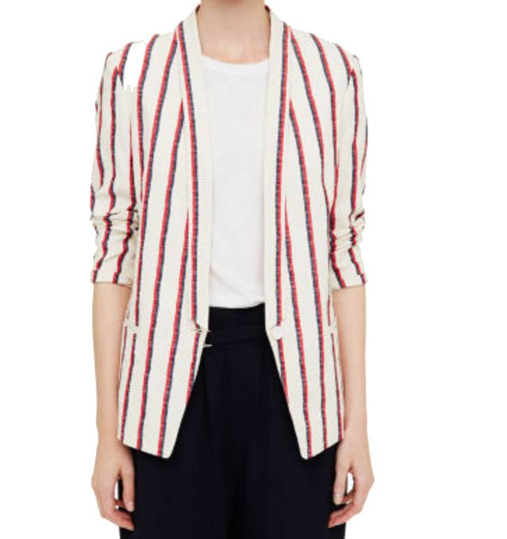 striped blazer club monaco