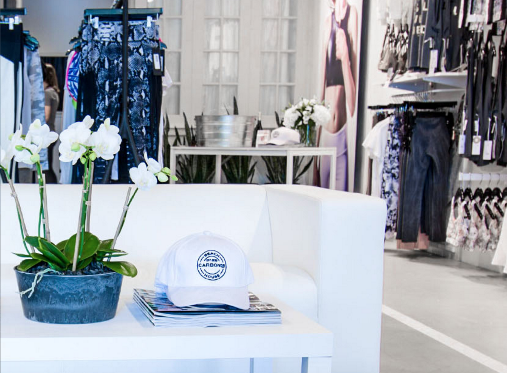 Carbon 38 Bridgehampton pop-up shop
