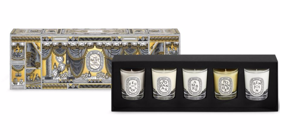 Diptyque 5-Piece Candle Set