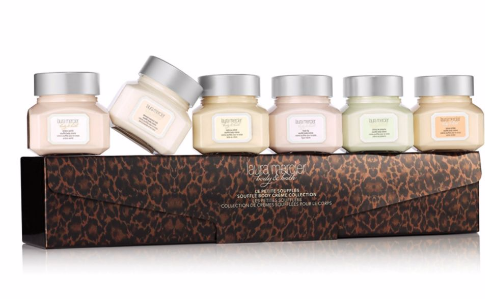 Laura Mercier Le Petite Souffles Souffle Body Creme Holiday Body & Bath Set