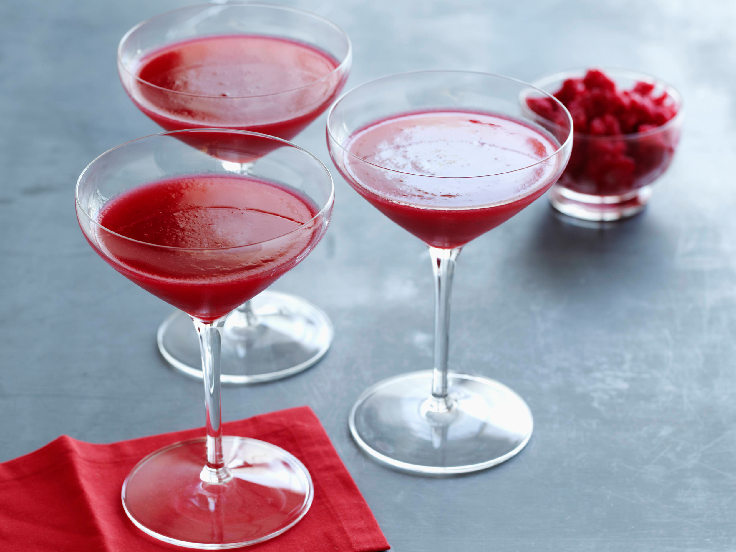 Alton Brown's Fresh Cranberry Cosmo