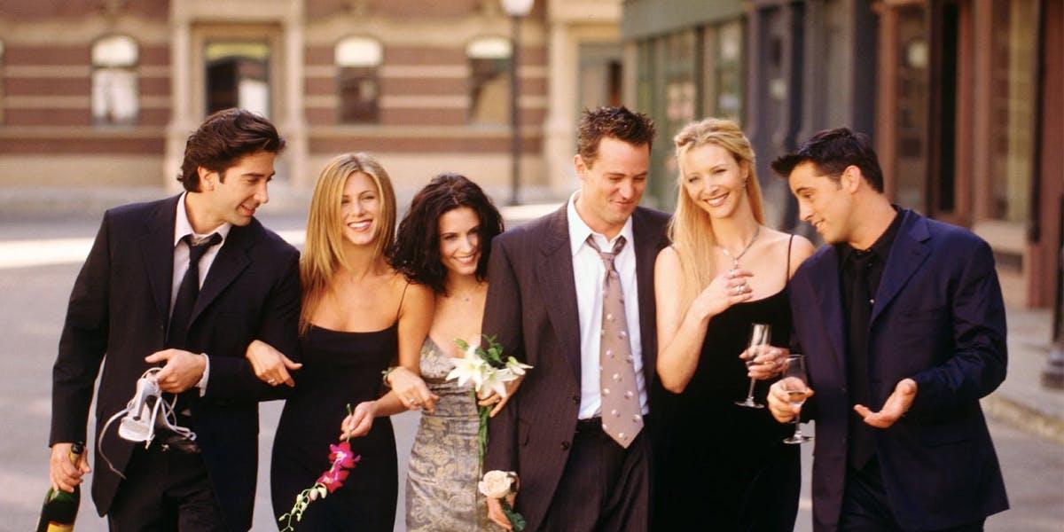 Top Ten Friends Moments